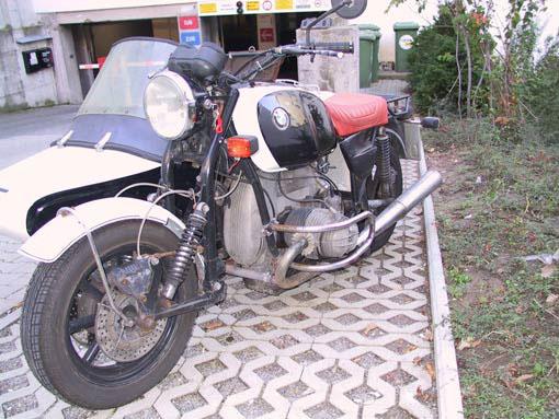 BMW EML R90S Gespann Amp R1100G Mit Zach Auspuff